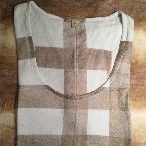 Burberry Brit Women's Supersoft Scoop Neck Shirt
