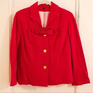 EUC CAbi Red Jacket