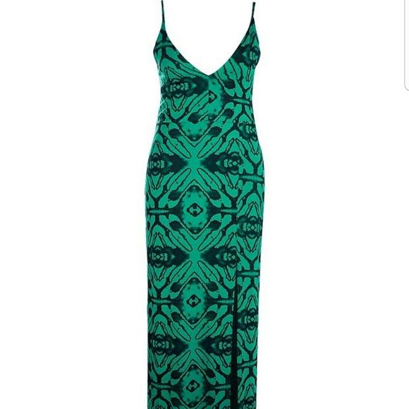 4fe3f0ef63e Boohoo Plus Dresses | Green Animal Print Maxi | Poshmark