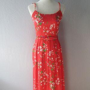 Malia Liberty House Hawaii Hawaiian maxi dress