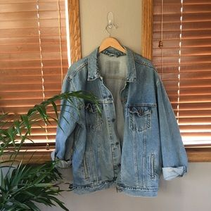 Vintage Oversized Levi's Trucker Jacket