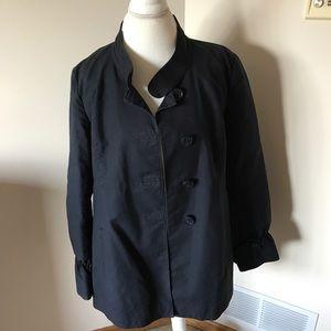 Jackets & Blazers - Navy Blue Peacoat