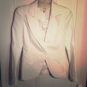 New With Tags Size Small White Blazer