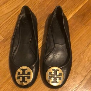 Tory Burch Black Flats - OFFERS WELCOME