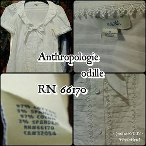 Anthropologie odille Like New