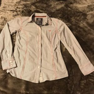 Ariat performance long sleeve shirt