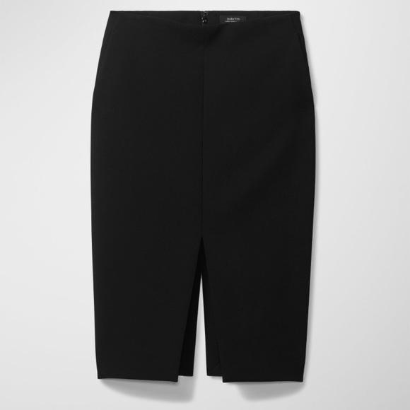 5f1857f96c Aritzia Dresses & Skirts - Aritzia Babaton Jax Black Skirt 00