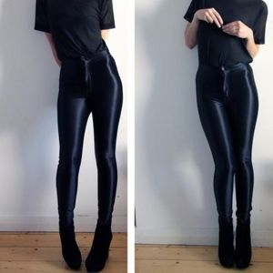 American Apparel Black Disco Pants Size XS