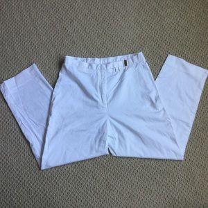 Ralph Lauren White Capris Pants