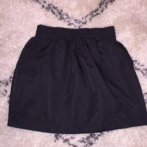 American Apparel Black Tulip Skirt