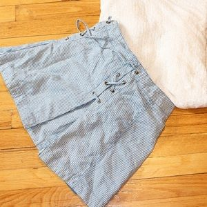 Free People Striped Skirt