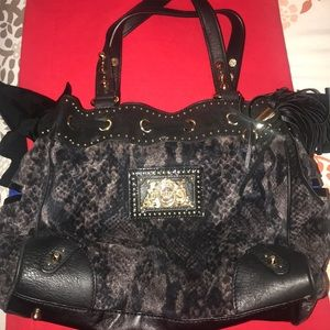 Juicy Couture Snakeskin Shoulder Bag