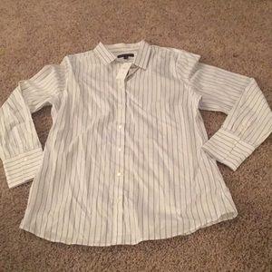 Banana Republic Button Up Shirt Size 16