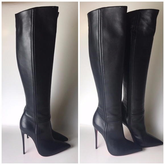 brand new 23e45 fcb6c Louboutin Armurabotta Over-the-Knee Boots Eu 37.5
