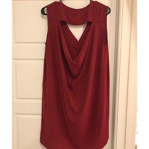 BCBG Max Azria deep red dress!