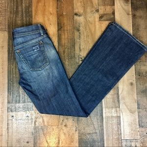 Joe's Jeans Stonewashed Flare Jeans. Size 25