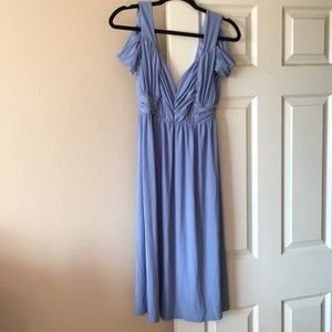 A new light blue midi dress from ASOS