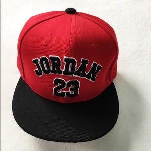 cb8184e1e1e9fd Air Jordan Accessories - Red 23 Jordan true SnapBack