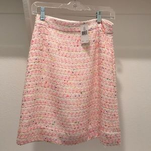 Kate Spade Mulit color skirt. New with Tags size 2