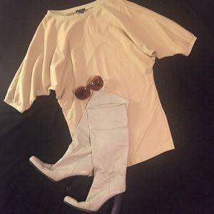 Vintage Batwing Sweatshirt Mini Dress - or Tunic
