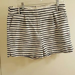 NWOT black and white stripe J Crew City Fit