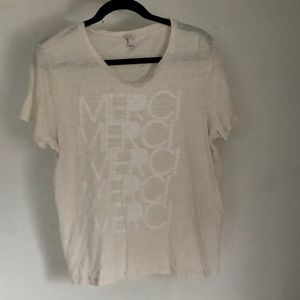 J. Crew Merci T Shirt