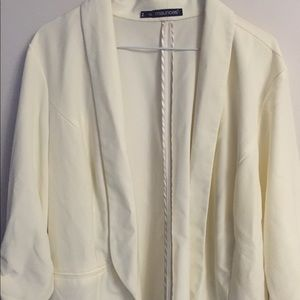 Maurice's off white cardigan