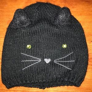 🖤New Listing🖤 Adorable Knit Cat Hat!