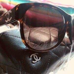 Chanel Tortoise Sunglasses
