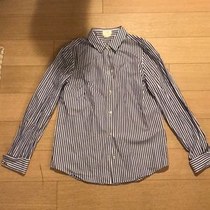 Authentic Kate Spade Pinstripe Shirt Size 4