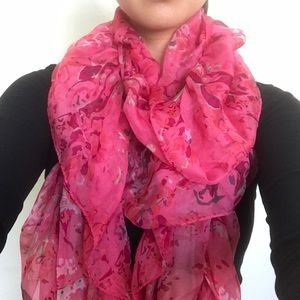 Juicy Couture Ruffled Scarf