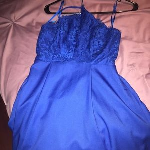 Blue Lulus dress