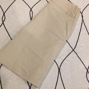 Merona size 4 khaki skirt
