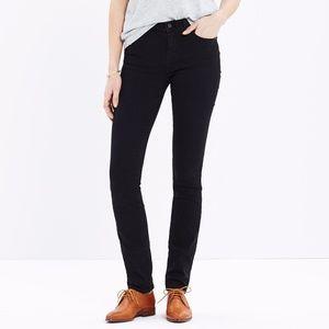 {Madewell} Alley Straight Leg Black Jeans 27