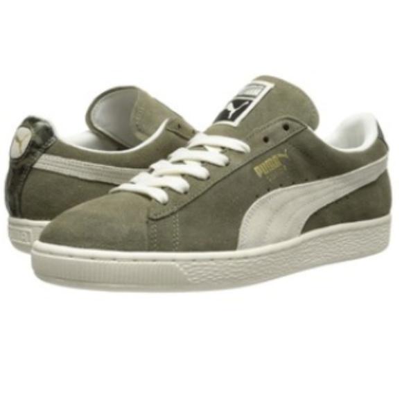 Puma Suede NC Women s Sneakers - Olive Green. M 5a12374e2fd0b70d110af8f2 c786927c9