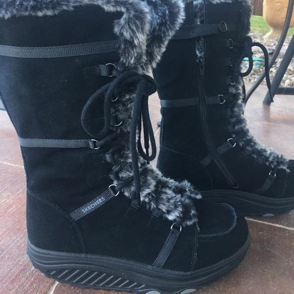 9be171ea34cf NWOT Skecher Shape up winter boots. M 5a1206d1620ff7e01709be00