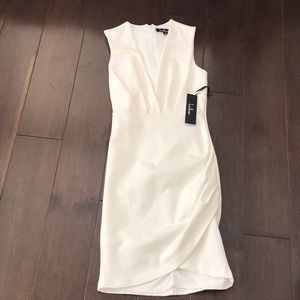 White Body Con Dress From Lulus