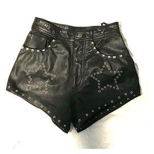 Nasty Gal studded shorts