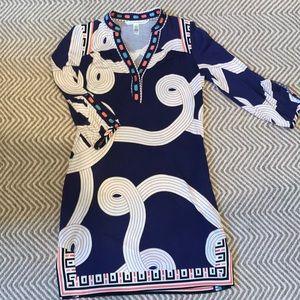 Diane VonFurstenberg 100% silk dress