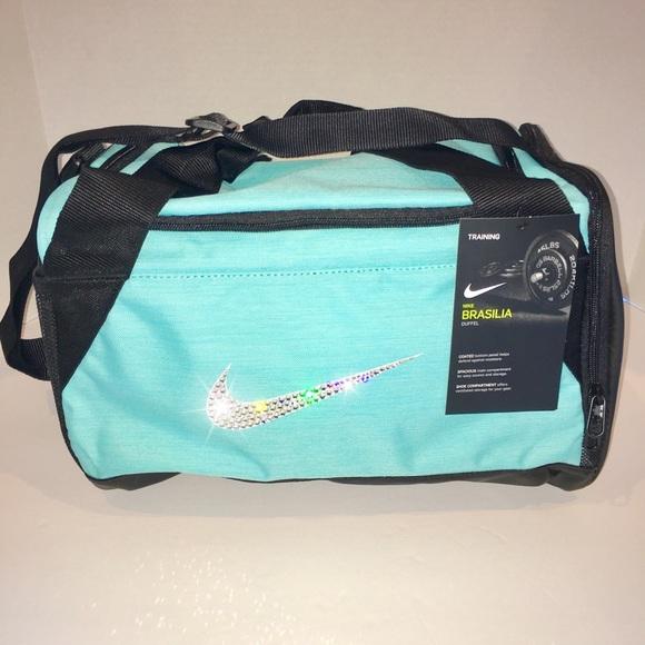 140580c240ed Bling Swarovski Crystal Nike Brasilia Duffel Bag