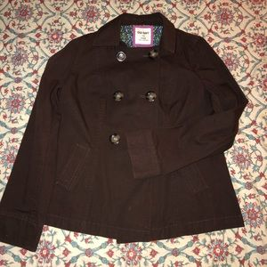 Brown spring jacket by old Navy