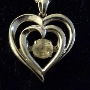 HEART  W/DAZZLE DIAMOND