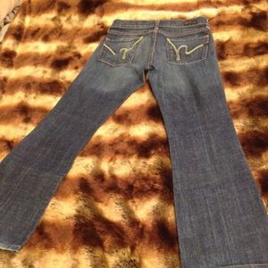 COH jeans exclusive Bloomingdales previously worn