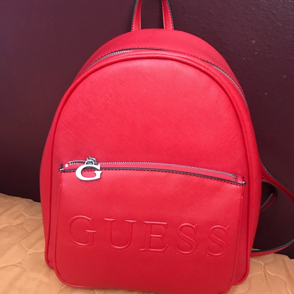 1e3ef853271c Guess Handbags - 100% AUTHENTIC GUESS BACKPACK