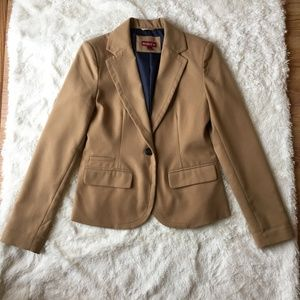 Merona camel colored blazer - Size 4