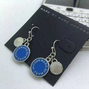 New Marc Jacobs Silver & Blue Earrings