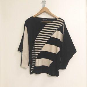Vintage Velour Striped Shirt