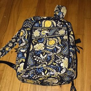 Backpack with Specially Designed Computer Pocket