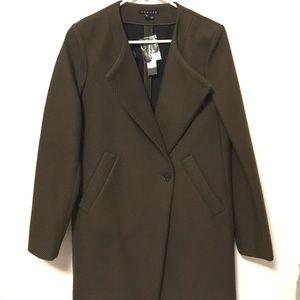 *Brand New* Theory | Venizka | Wool Twill Coat