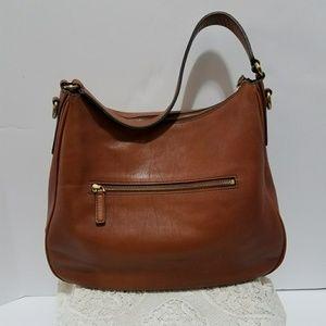 Fossil Leather Shoulder Handbag Authentic